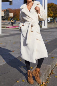 Soft Feel Full Length Coat