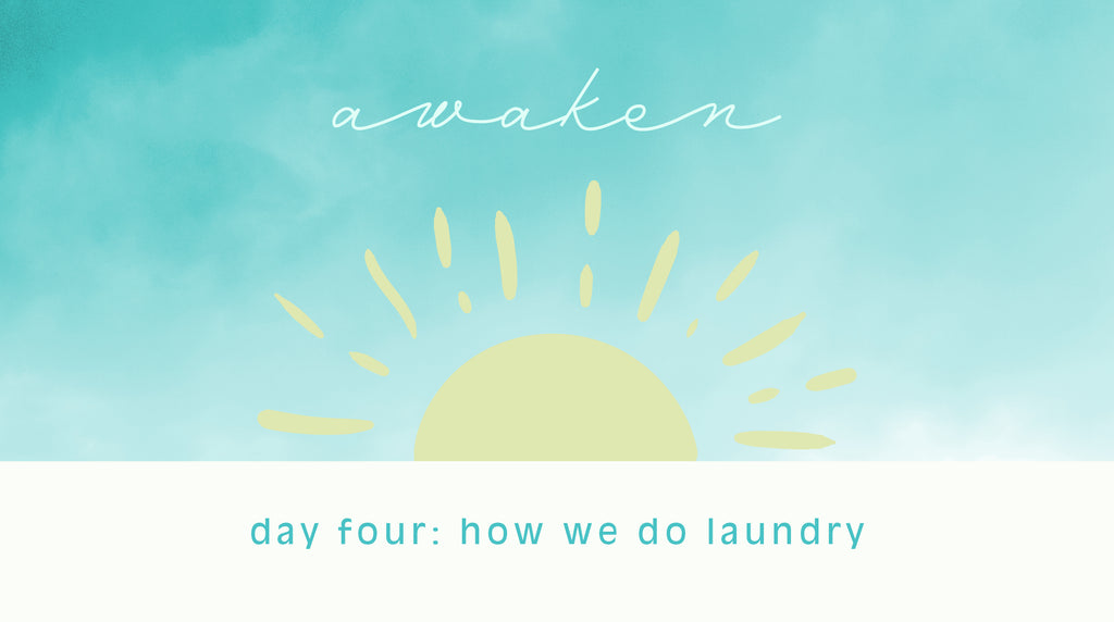 day four: how we do laundry