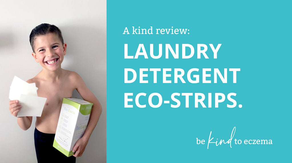 A kind review: laundry detergent eco-strips