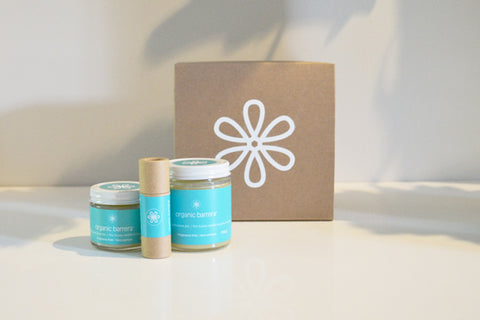 Organic skincare for eczema and sensitive skin. Made In Canada.