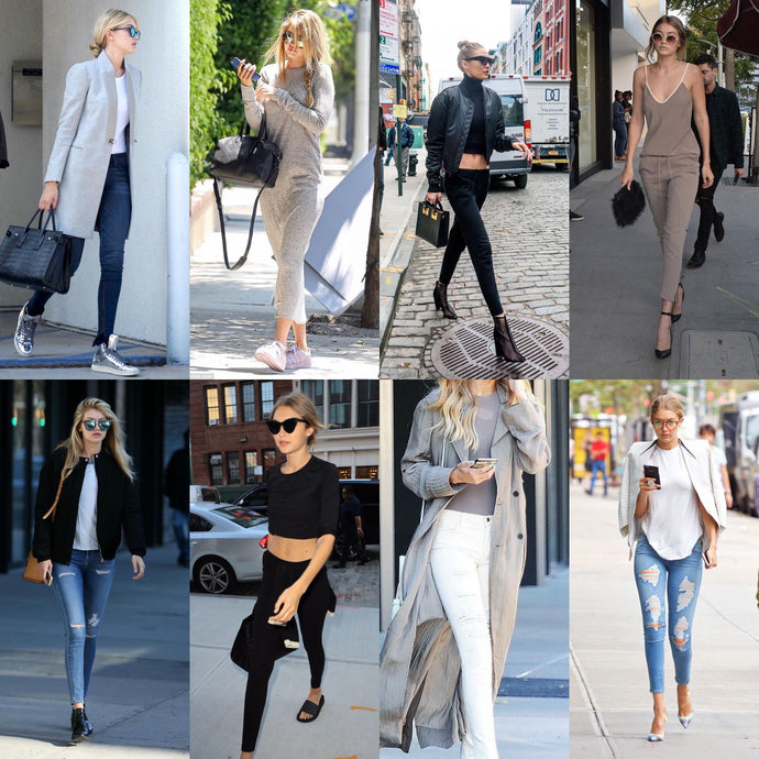 Celebrity in basics: Casual