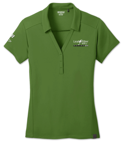 LeafFilter Racing: V-Neck Polo