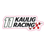 Decal: 11-Kaulig Racing Logo