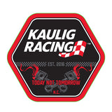 "Decal: Kaulig Racing ""Lug nut"""