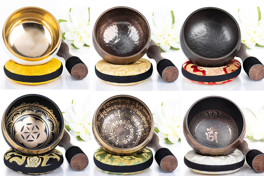 Silent Mind Exclusive: Six New Singing Bowl Designs