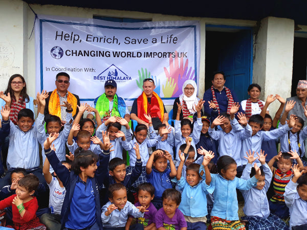 Silent Mind Aids Struggling School in Nepal