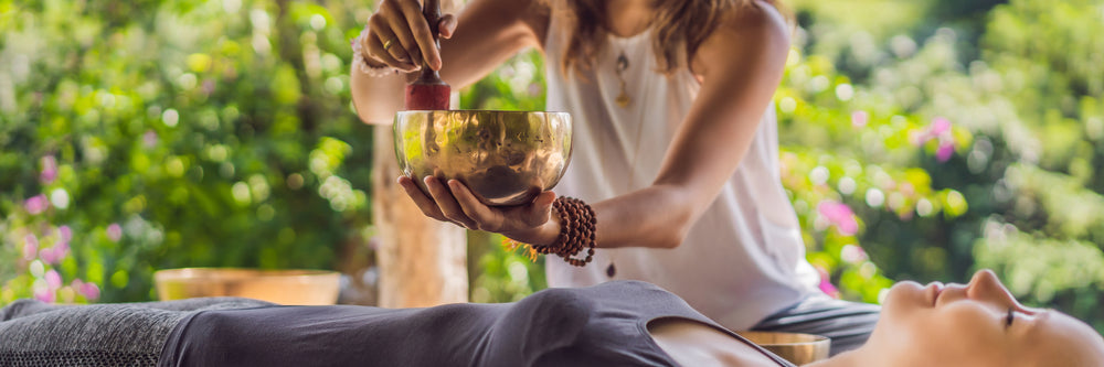 How to Take a Singing Bowl Sound Bath at Home
