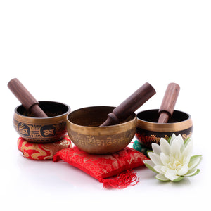 Load image into Gallery viewer, Customized Bowls Singing Bowl Silent Mind - Silent Mind