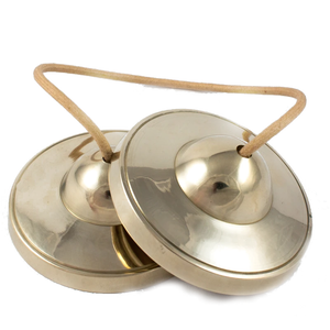 Silent Mind ~ Bronze Tingsha Cymbals for Meditation, Mindfulness and Sound Healing