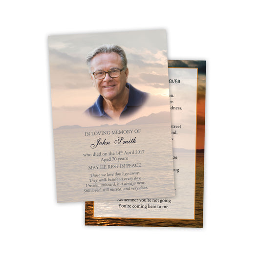 Personalised Memorial Cards