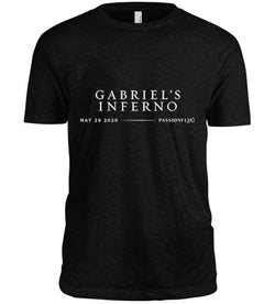 Gabriel's Inferno Premiere Tee (Charcoal) - LIMITED EDITION