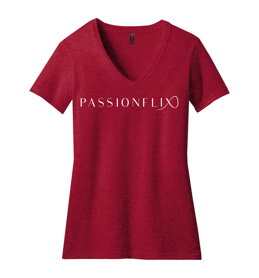 ALL NEW Passionflix V-Neck Tees