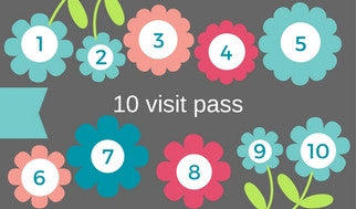 10 Visit Punch Pass