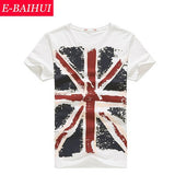 E-BAIHUI Brand Cotton men Slim Fit t shirt
