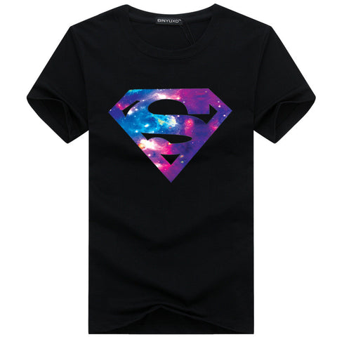 New Fashion Brand T Shirts Superman