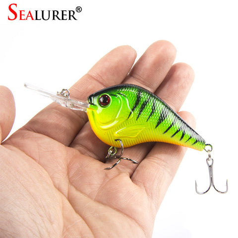 Fishing Lure Deep Swimming Crankbait 9.5cm