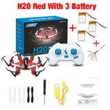 Mini Jjrc h20 rc nano hexacopter 2.4G 4CH 6 axis rc drone quadcopter 3D rollover headless model remote control helicopter toys
