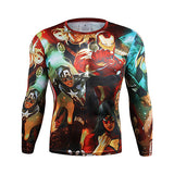 2016 Batman VS Superman T shirt 3D Printed T-shirts Captain America Avengers iron man Fitness Clothing Cosplay Costume Male Tops