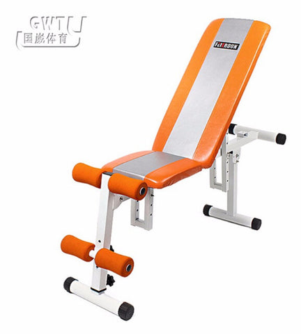 Multifunctional sit up fitness bench