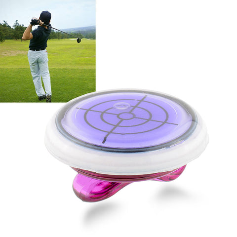 Golf Slope Putting Level Reading Ball marker With Hat Clip Outdoor Sports Golf Accessories