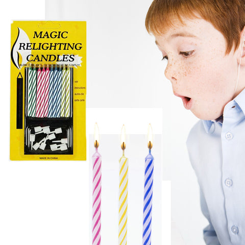 Birthday Cake Party Relighting Candle