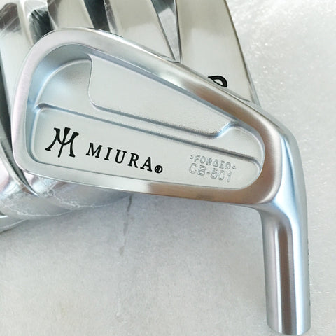 New mens Golf head MIURA CB-501 FORGED Irons clubs head set 4-9.P Golf Irons head no Golf shaft  Free shipping