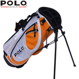 Polo Genuine Golf Cart Bag High Quality Children Support Ball Bag Portable Light Sport Golf Rack Bag 7-8 Clubs Anti-Friction
