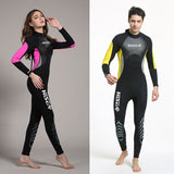 Neoprene Wetsuit 3MM Surfing Wetsuits Women Mens Full Body Wet Suit Spearfishing Scuba Diving Suit Traje Neopreno