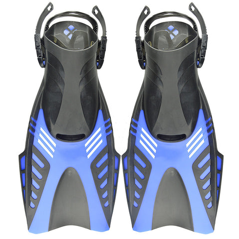 toughened scuba diving fins water sport shoes adjustable wearing  F-27