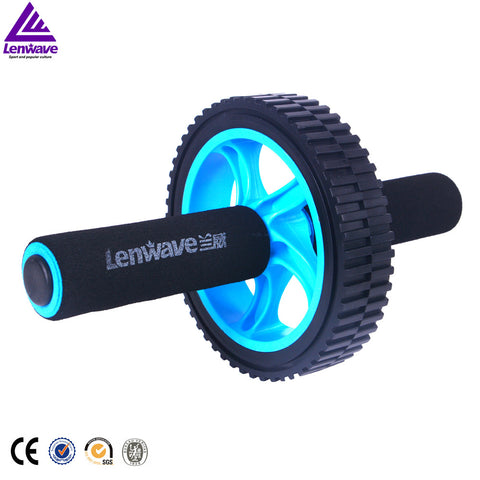 Lenwave Brand Fitness Equipment Abdominal AB Roller Belly Wheel High quality hot sales