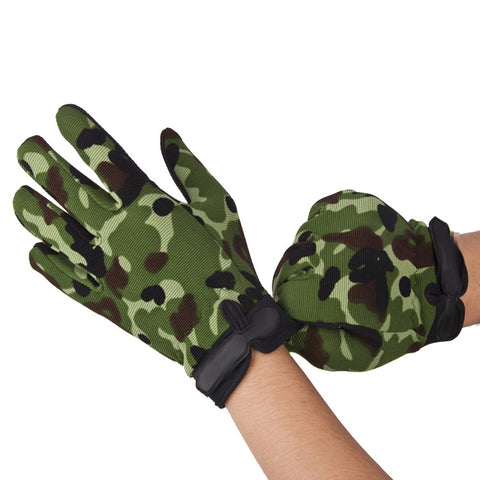 Winter Shockproof Full Finger Cycling Gloves M-XL