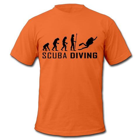 Evolution scuba t shirts