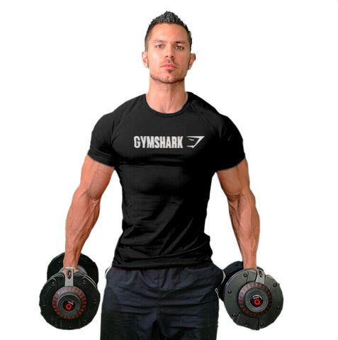 2016 Men's Gymshark cotton t shirt