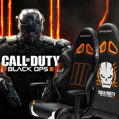 Dexracer CALL OF DUTY Limited Edition swivel gaming chair