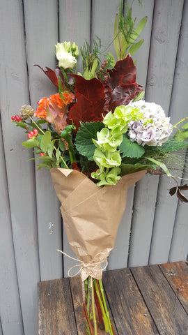 rustice autumn bouquet
