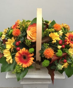 Autumn Blooms Basket! Oasis Florists Terenure Dublin
