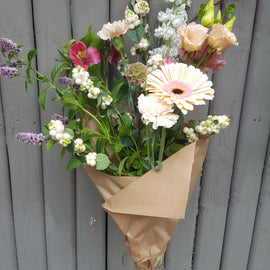 Informal-bouquet-flowers-rustic-dublin-nationwide-delivery-terenure-rathgar