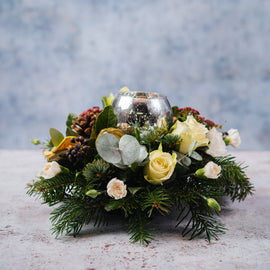 Winter White Centrepiece