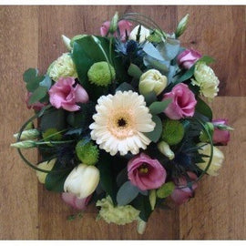 Traditional Seasonal Posie, Posie - Oasis Florists-funeral flowers delivery dublin
