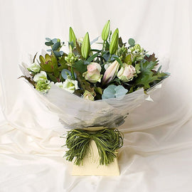 Antique Rose Bouquet, Flowers - Oasis Florists