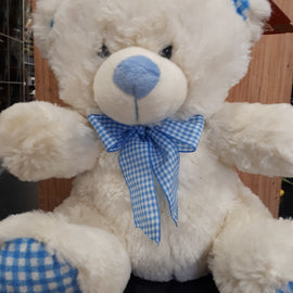 Baby Boy Teddy Bear,  - Oasis Florists