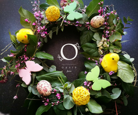 Easter Wreath, Wreath - Oasis Florists