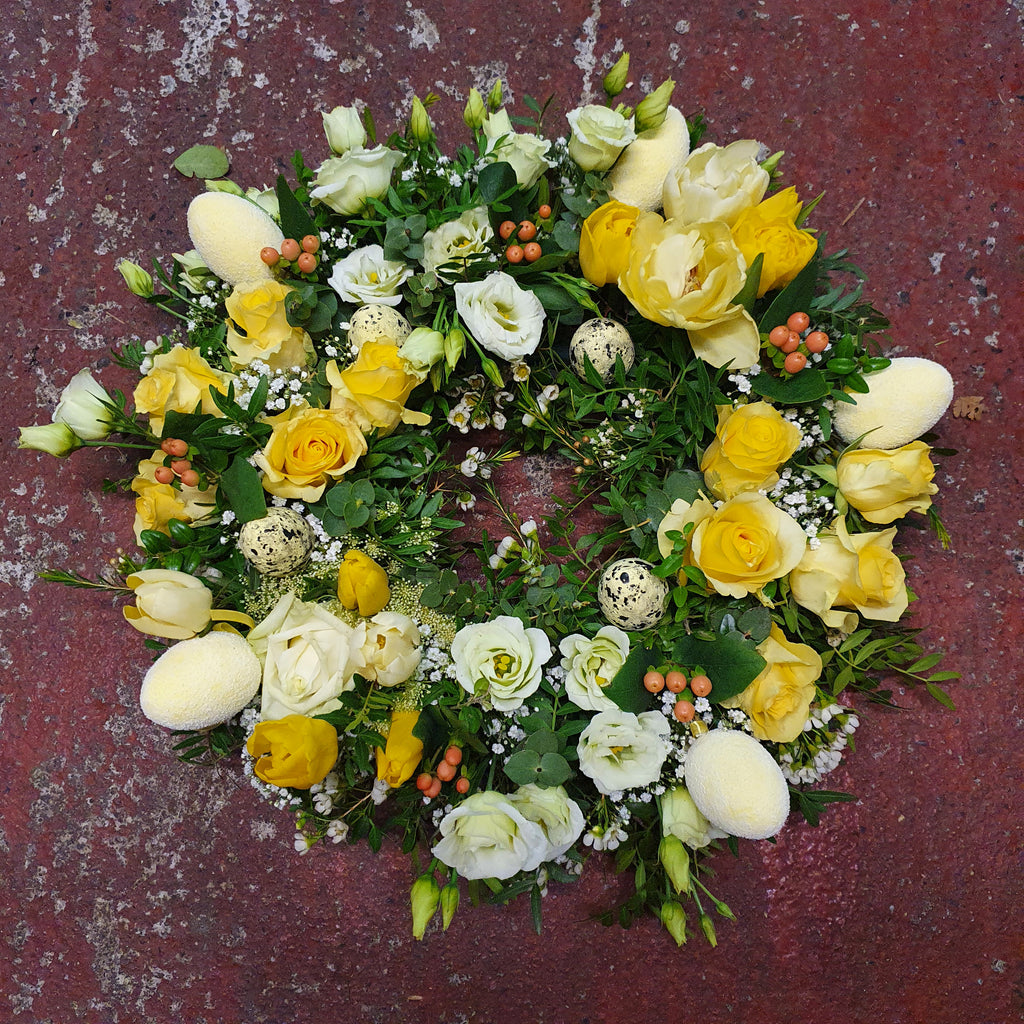 Easter Table Wreath