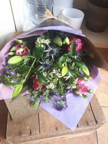 Wild Garden Bouquet, Flowers - Oasis Florists