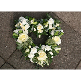 Open Heart Sympathy, Wreath - Oasis Florists