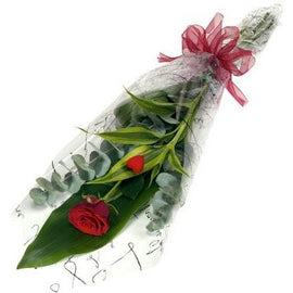 Single Red Rose, Flowers - Oasis Florists-terenure-roses-delivery-dublin-sameday