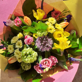Spring Style Scented Bouquet, Flowers - Oasis Florists