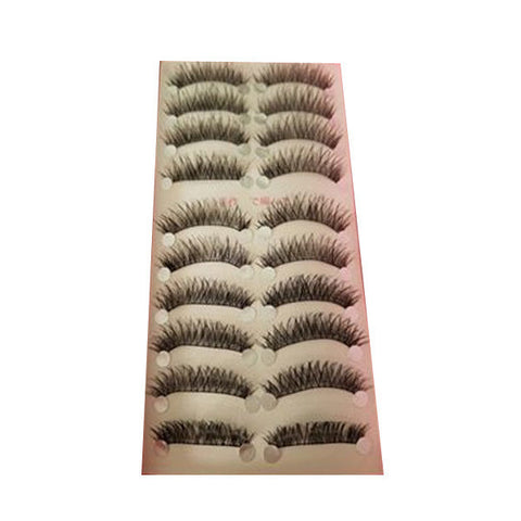 10 Pair1 Set Long Thick Eyelashes