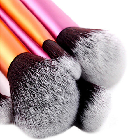6 Pcs Powder Cosmetic Rt Brushes