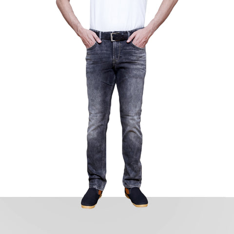 Home Bazar Denim Black & Grey Jeans - HomeBazar.pk - 1